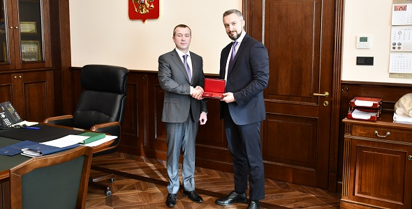 The Chairman of the IBEC Board was awarded the medal of the Russian Federation